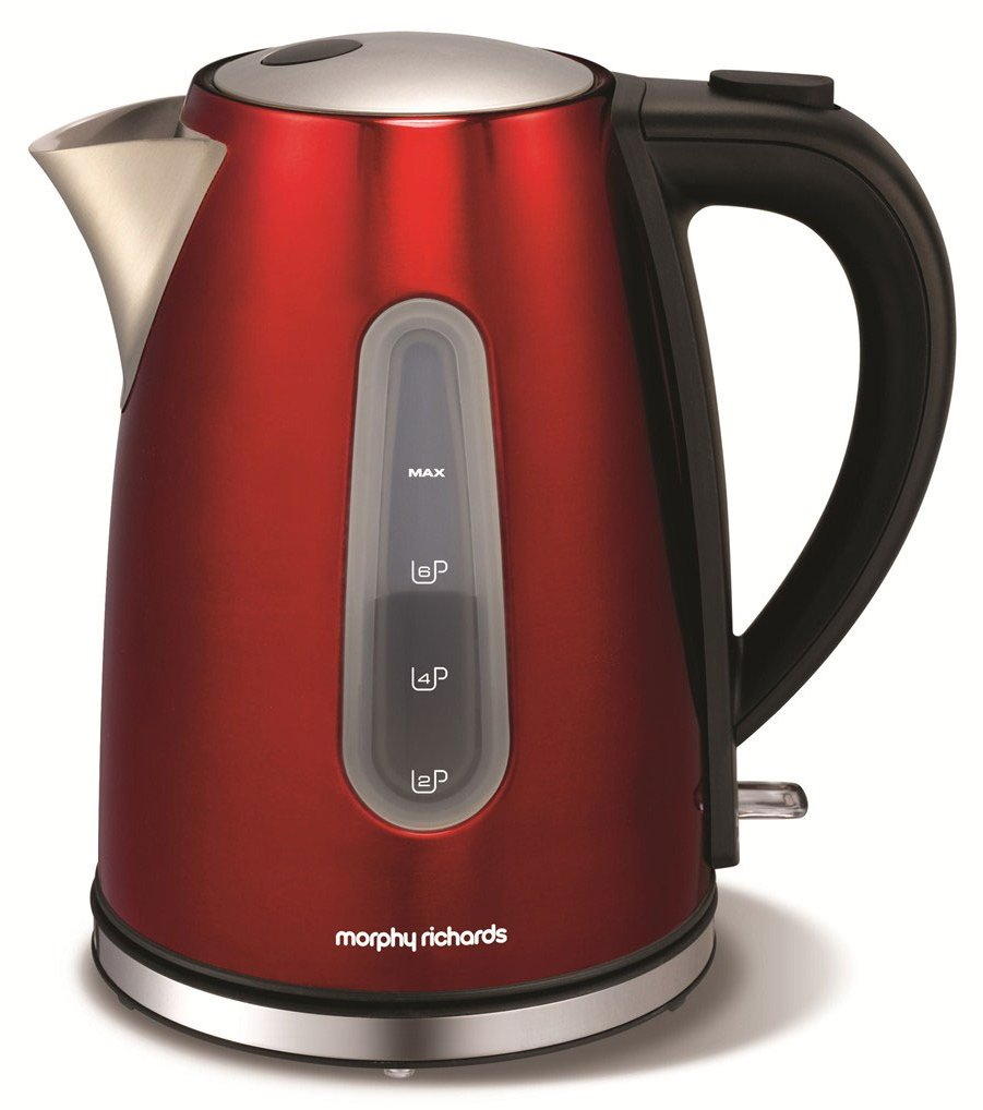 Morphy Richards Kettle: Morphy Richards 43904 Accents Red Kettle