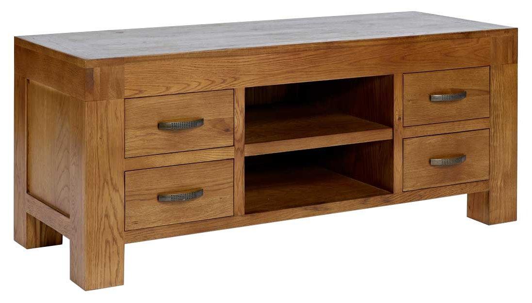 Rustic grange santana rustic oak tv stand Oak tv stands