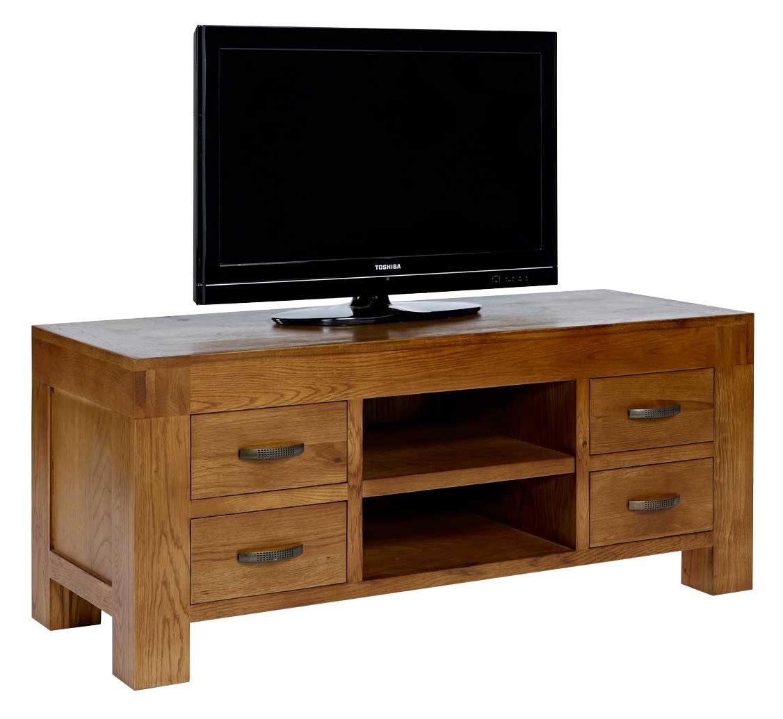 Rustic grange santana rustic oak tv stand Rustic tv stands