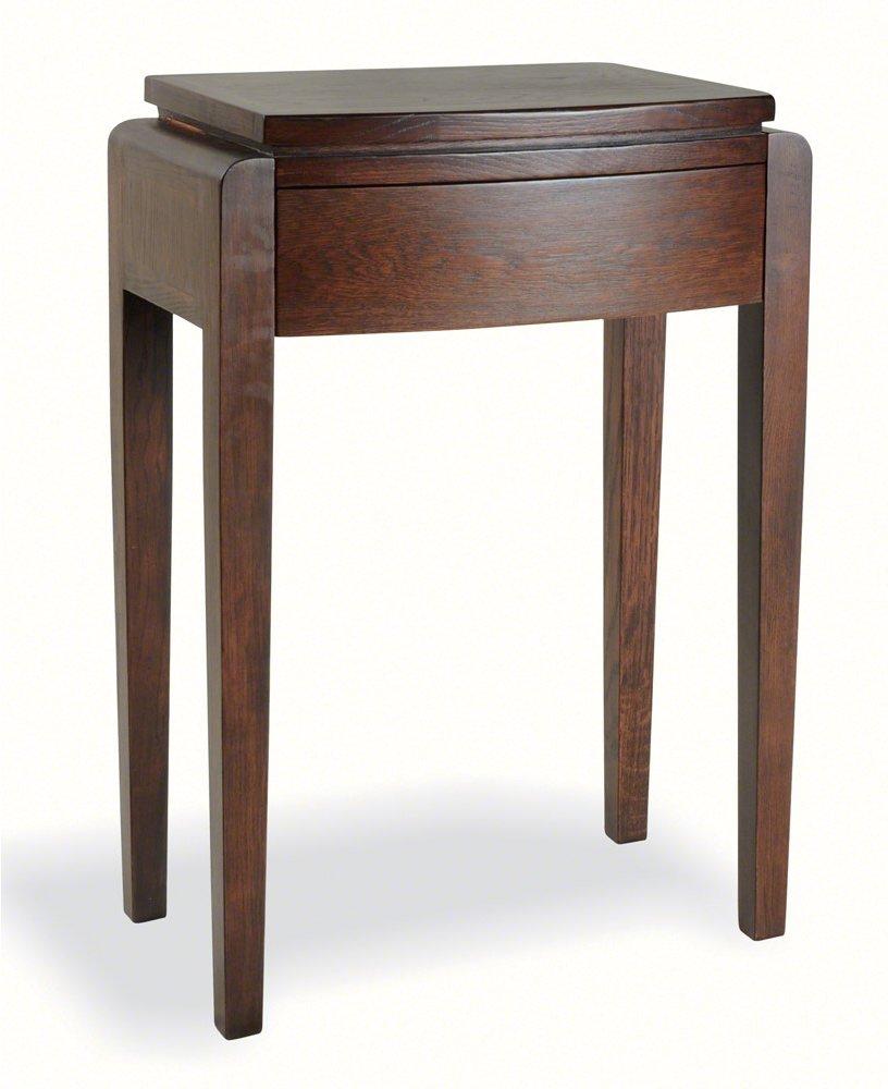 ultimum alnwick dark oak uad04 tall lamp table. Black Bedroom Furniture Sets. Home Design Ideas