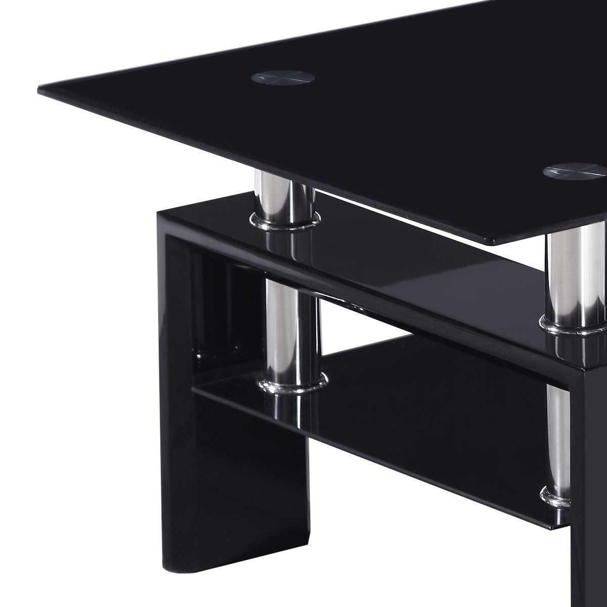 Valufurniture Metro Coffee Table Black Alternative Image