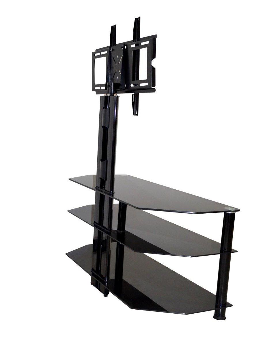 Mmt Cb60 Black Swivel Cantilever Tv Stand