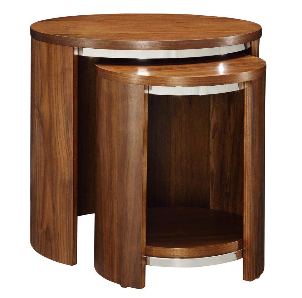 Jual jf walnut nest of tables