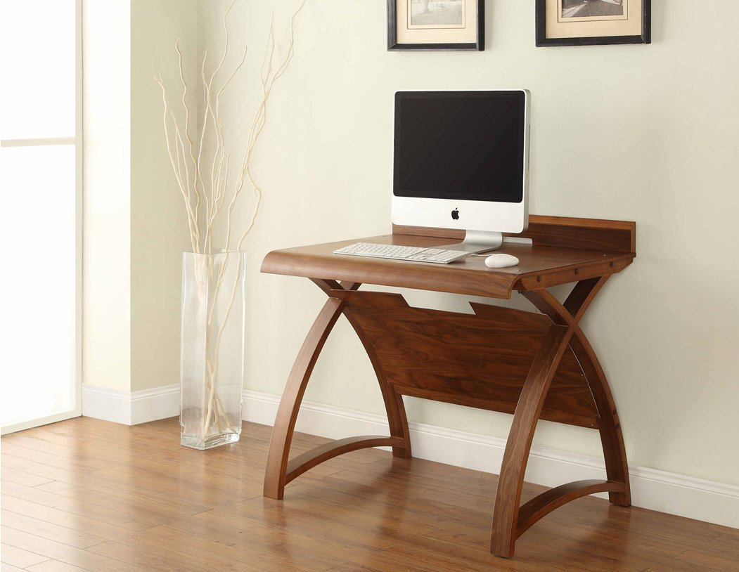 Jual Santiago Small Walnut Computer Desk Alternative Image