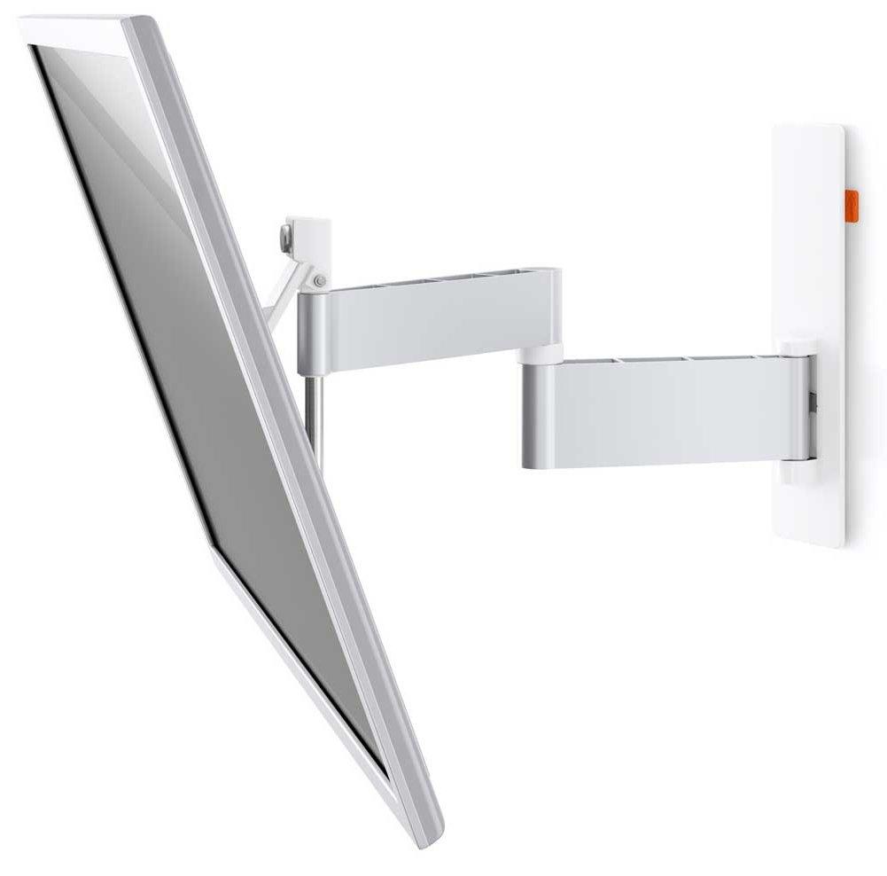 vogels wall 2345 white cantilever tv wall bracket. Black Bedroom Furniture Sets. Home Design Ideas