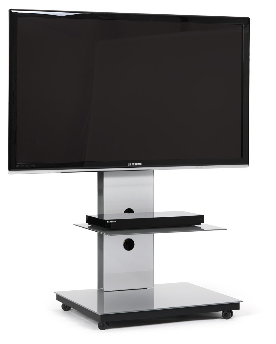 spectral tray px601 silver cantilever tv stand. Black Bedroom Furniture Sets. Home Design Ideas