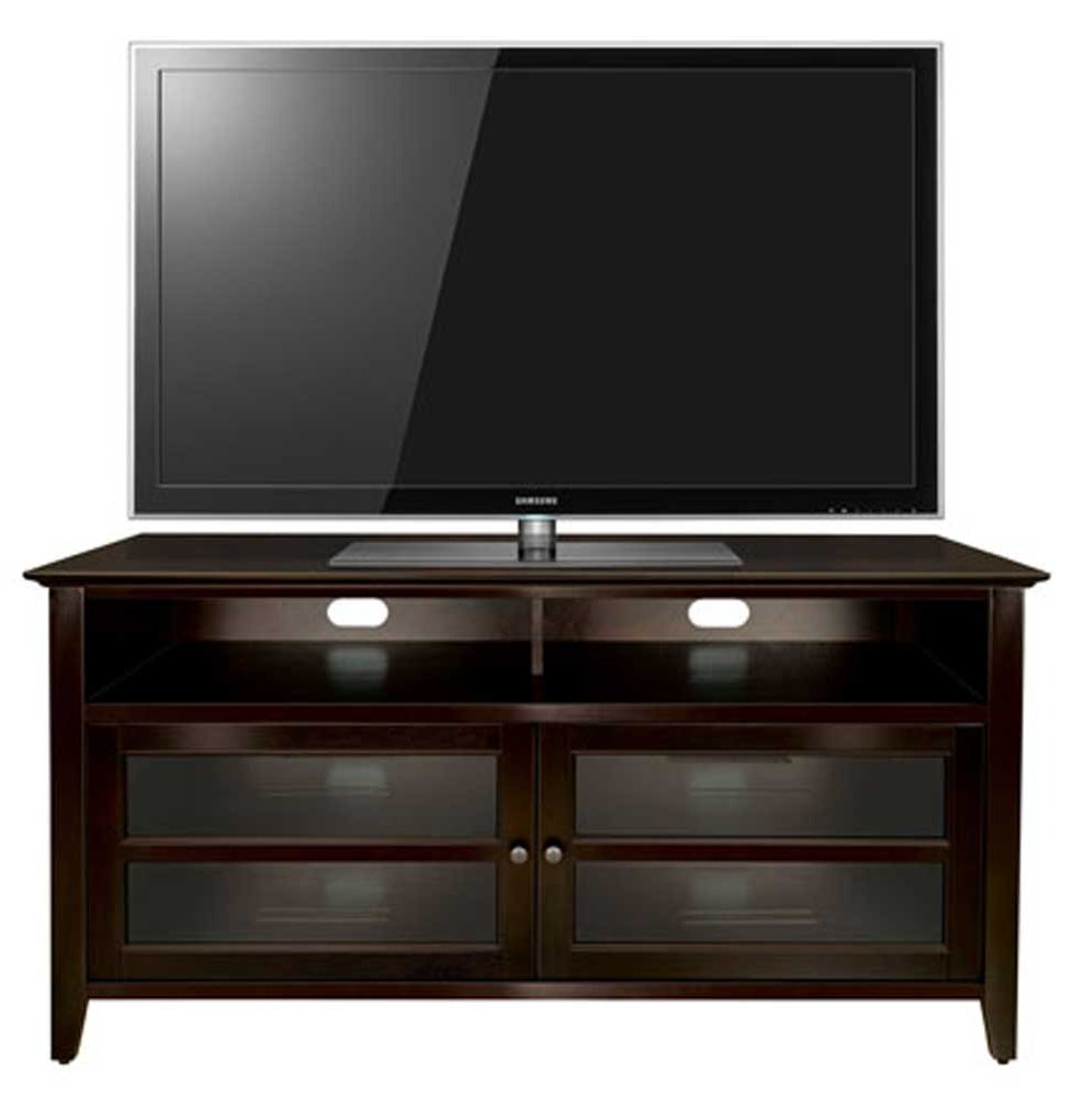 Wooden Tv Stands Product ~ Bello wavs dark wood tv stand