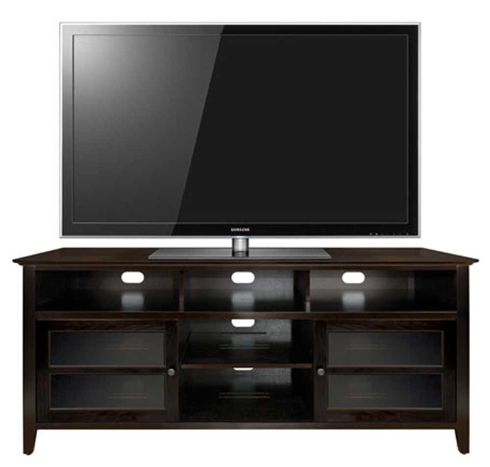 bello wavs 99163 dark wood tv stand. Black Bedroom Furniture Sets. Home Design Ideas