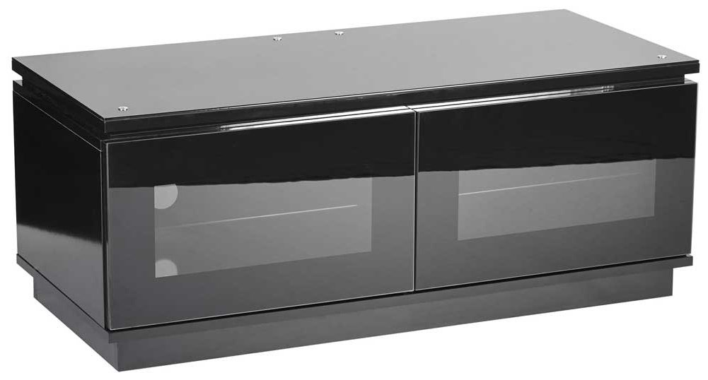 Wall Mounts For Tvs MMT D1120 High Gloss Black TV Cabinet