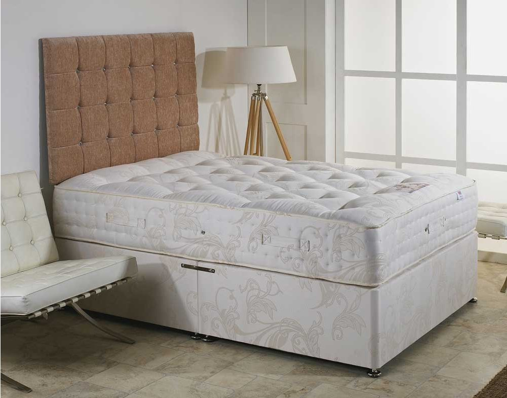Luxan Elizabeth No Drawers With Headboard 5 39 0 Divan