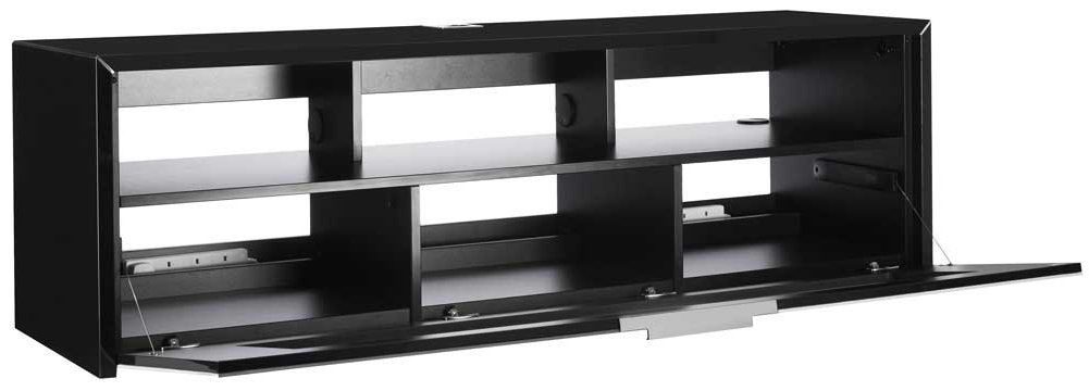 schnepel s1 mk sound black silver tv stand. Black Bedroom Furniture Sets. Home Design Ideas