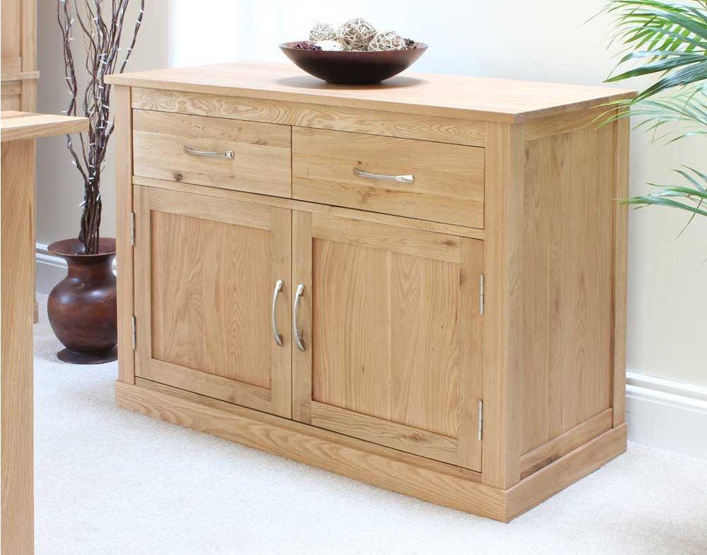 Mobel oak small sideboard - Furnitive mobel ...