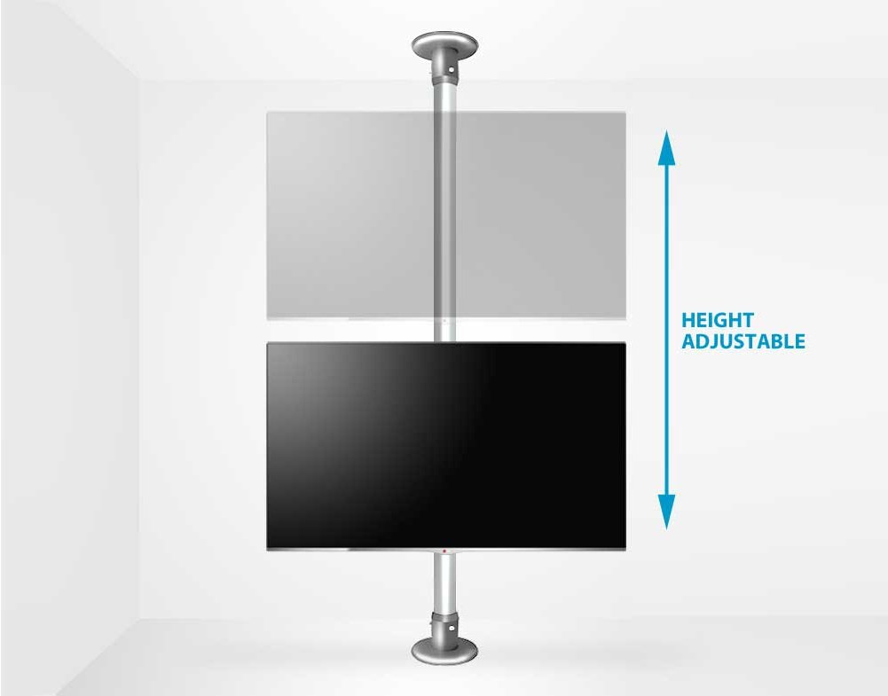b tech floor to ceiling mount for up 55 3m pole. Black Bedroom Furniture Sets. Home Design Ideas