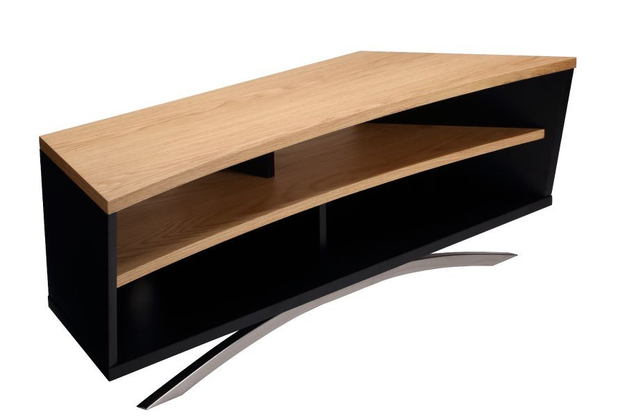 Techlink Pr130sblo Prisma Tv Stand For Up To 65 Inch Tvs