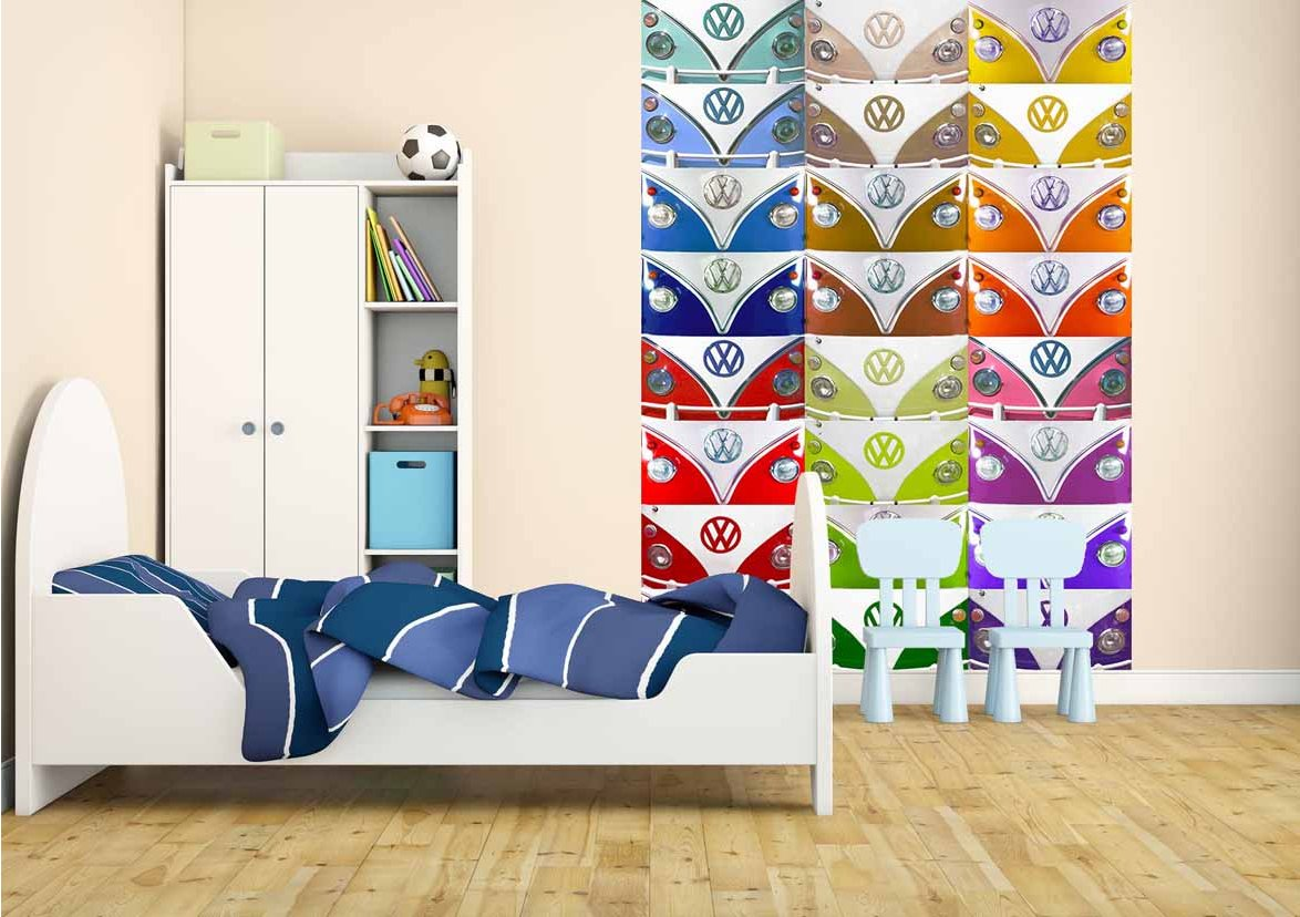 1wall w4pl vw 004 murals for Campervan wall mural