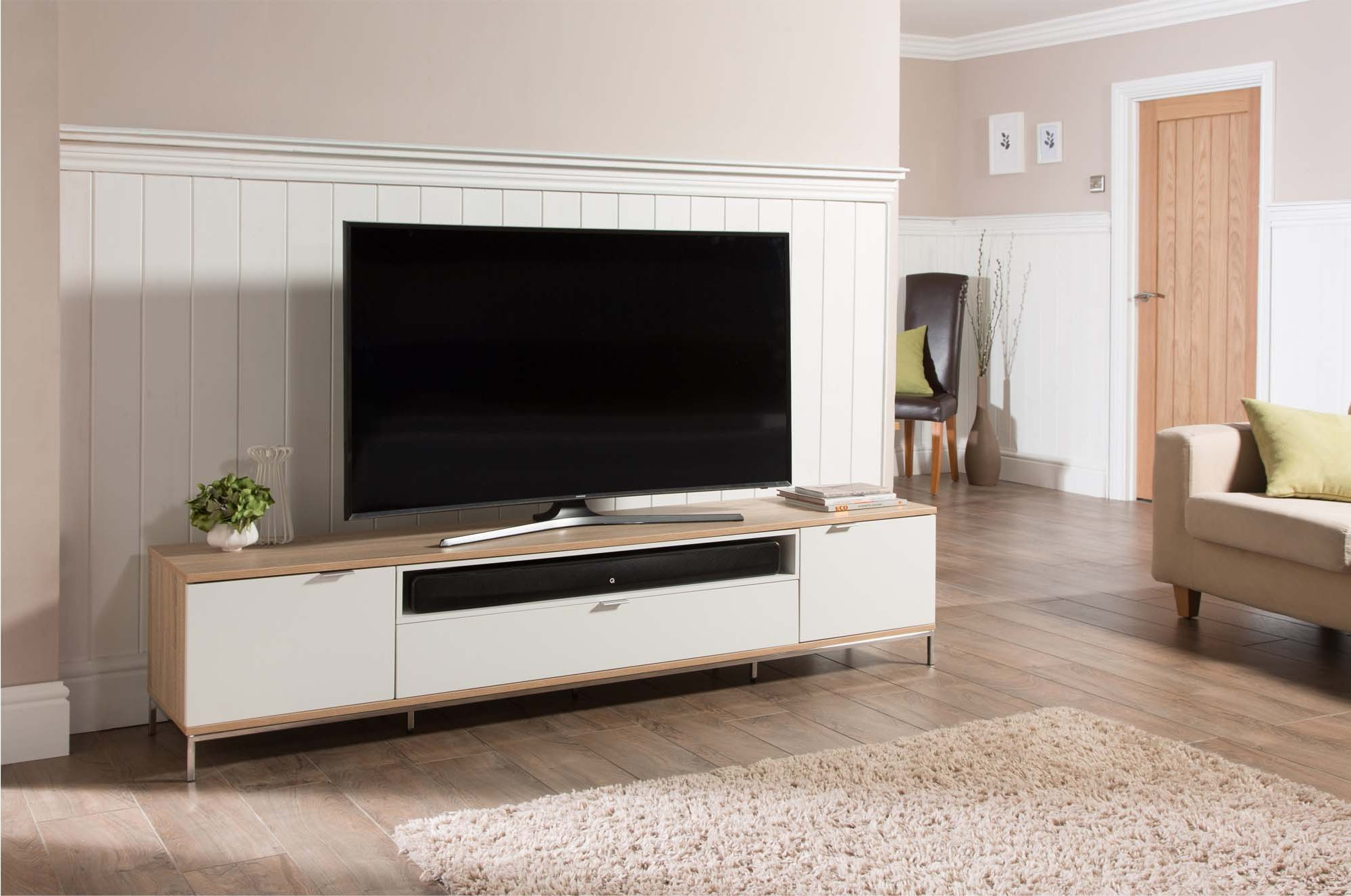alphason adch2000 wht tv stands. Black Bedroom Furniture Sets. Home Design Ideas