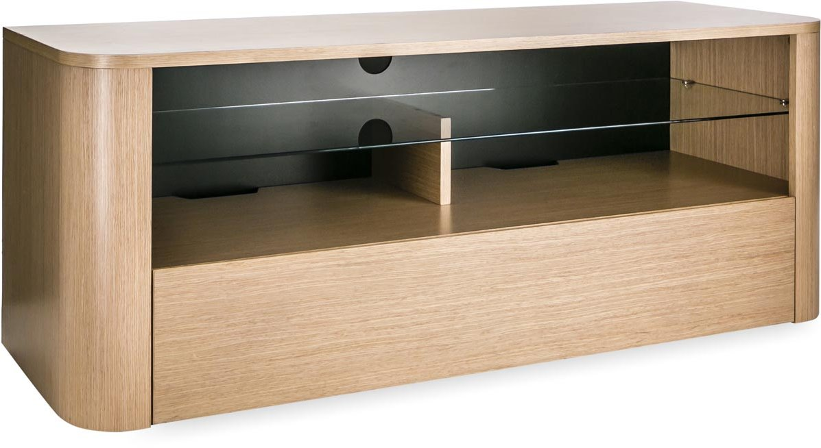 Alphason Hugo 1260 Tv Stand For Tvs Up To 60 Light Oak Main