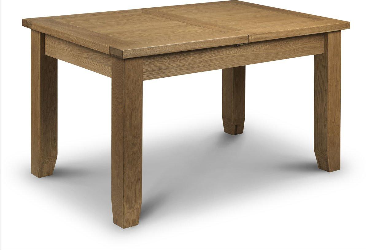 julian bowen astoria extending oak dining table dining room tables