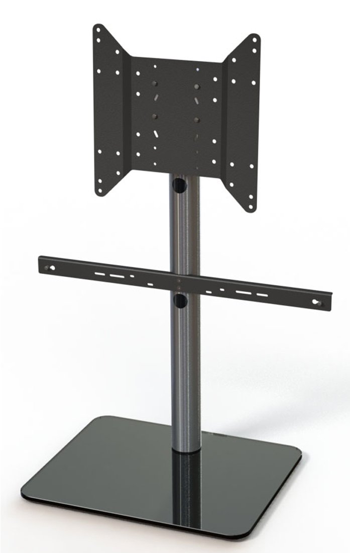 Stand With Tv Bracket And Soundbar Mount Hover To Zoom
