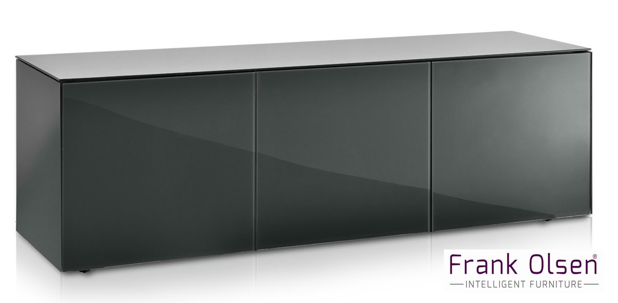 Frank Olsen Intel1500gy Grey Tv Cabinet For Tvs Up To 70 Inch