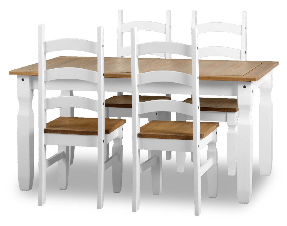 ValuFurniture 400 401 135 Dining Room Tables : products35469dinningsetwhite1 from www.theplasmacentre.com size 1209 x 952 jpeg 90kB