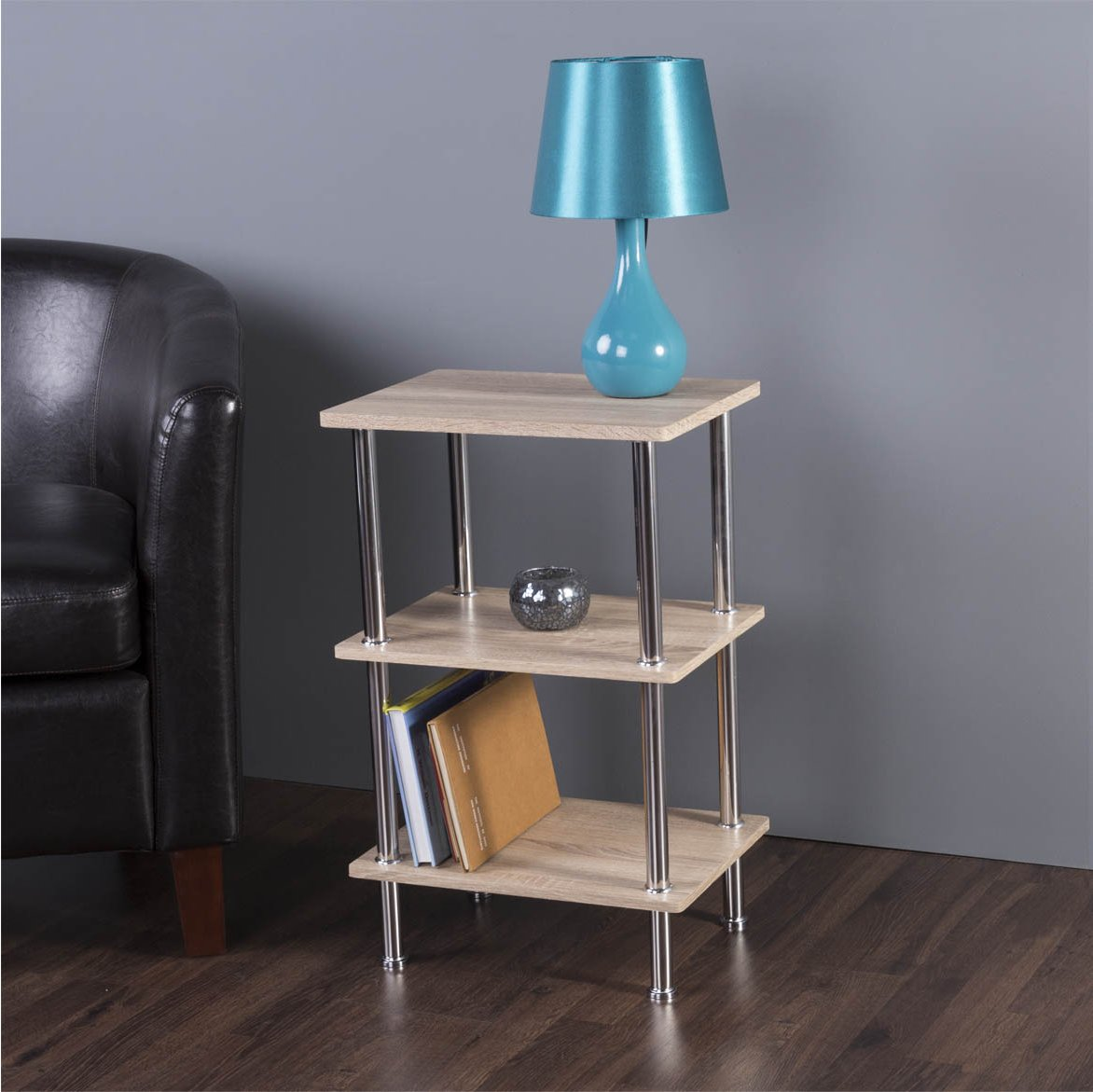 Avf s33ow bookcases cabinets for Avf furniture