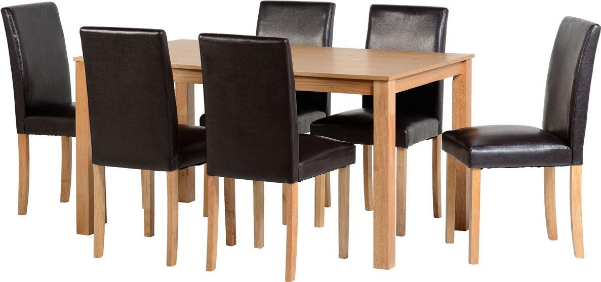 valufurniture ashbourne dining set in ash dining room tables