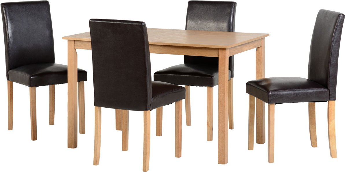 valufurniture ashmere dining set in ash dining room tables