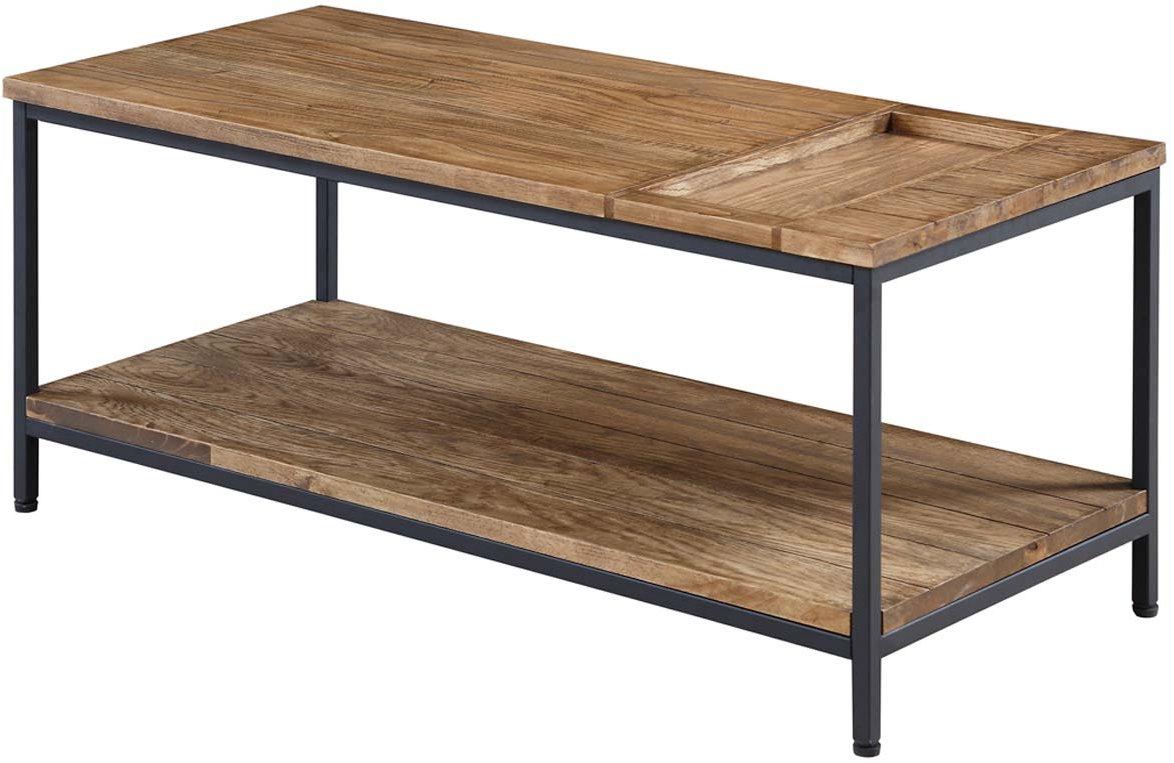Jual Solid Wood Rustic Oak Coffee Table Alternative Image