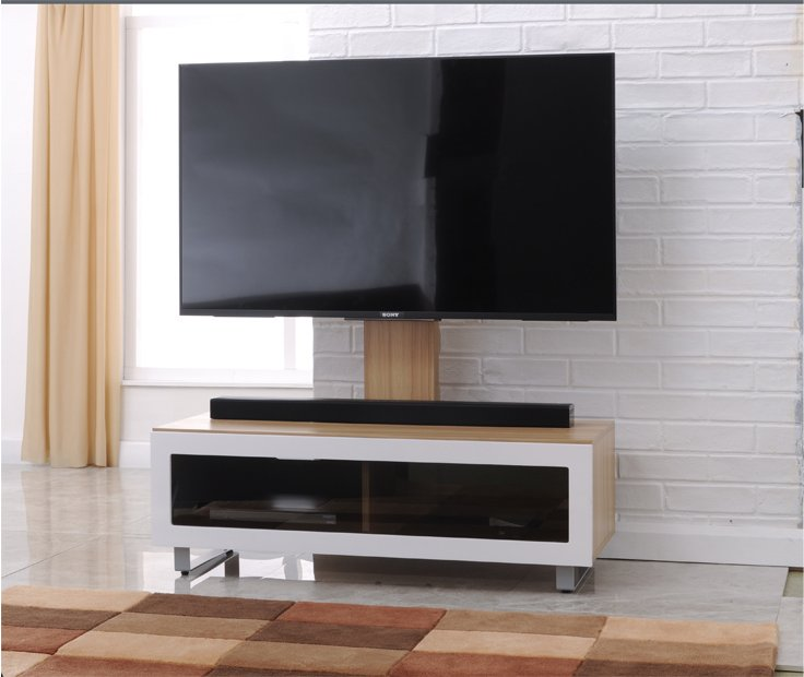 TNW Munich TV Stand With Bracket For Up To 50 TVs Main Image