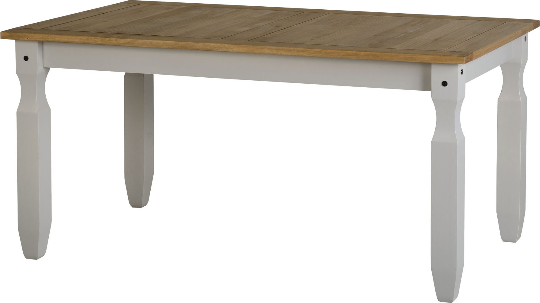 Valufurniture valufurniture corona dining set grey for Grey dining room table