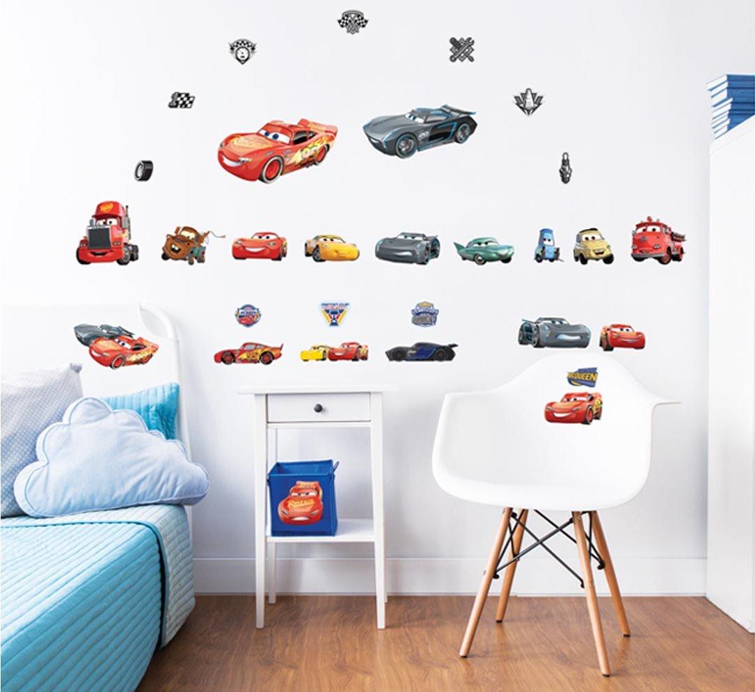 Walltastic 44708 Disney Cars Wall Stickers