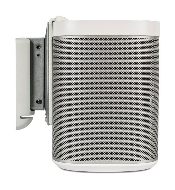 Flexson Tilt and Swivel Wall Mount for SONOS PLAY:1 with Fixing Kit White