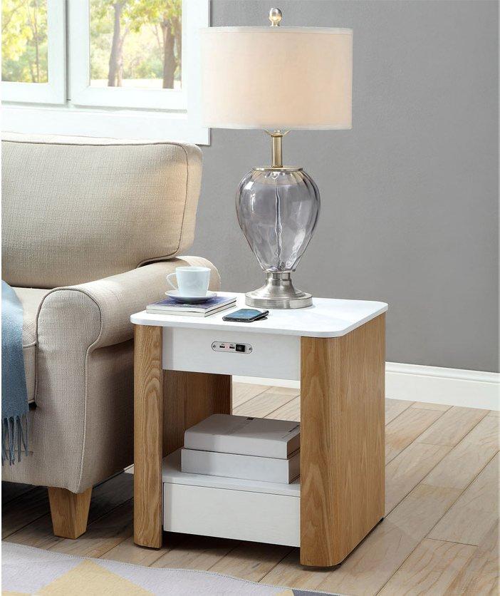 Jf404 San Francisco Bedside Lamp Table