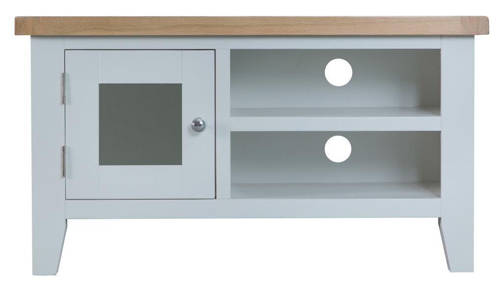 on sale 4a531 e7d40 Ultimum Grasmere TV Cabinet in Grey/Oak