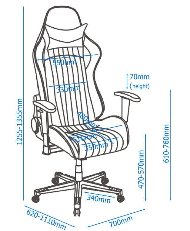 Swell Alphason Senna Modern Gaming Chair Black Grey Pdpeps Interior Chair Design Pdpepsorg