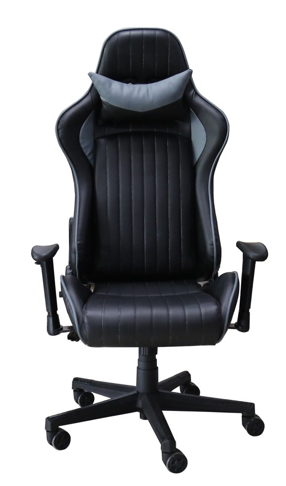 Astonishing Alphason Senna Modern Gaming Chair Black Grey Pdpeps Interior Chair Design Pdpepsorg