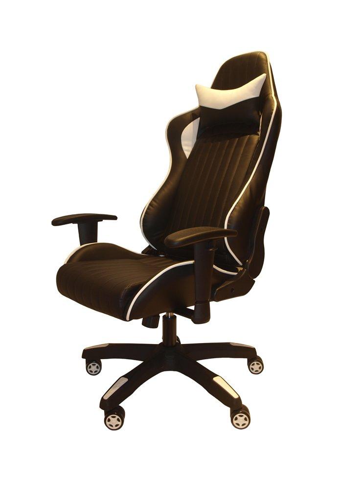 Remarkable Alphason Senna Modern Gaming Chair Black White Pdpeps Interior Chair Design Pdpepsorg