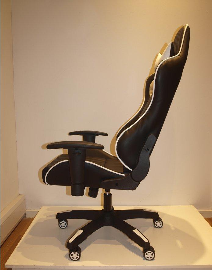 Phenomenal Alphason Senna Modern Gaming Chair Black White Pdpeps Interior Chair Design Pdpepsorg