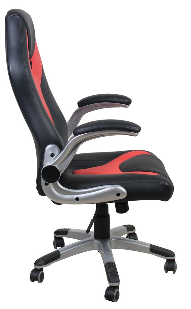 Pleasant Alphason Aoc3301 Monza Racing Style Office Gaming Chair Red Black Pdpeps Interior Chair Design Pdpepsorg