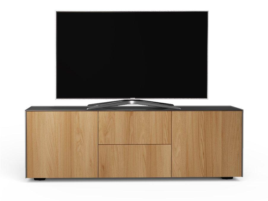 size 40 ac6ae 9b5bd Frank Olsen INTEL1500 Matt Grey/Oak TV Cabinet For Up To 55 inch