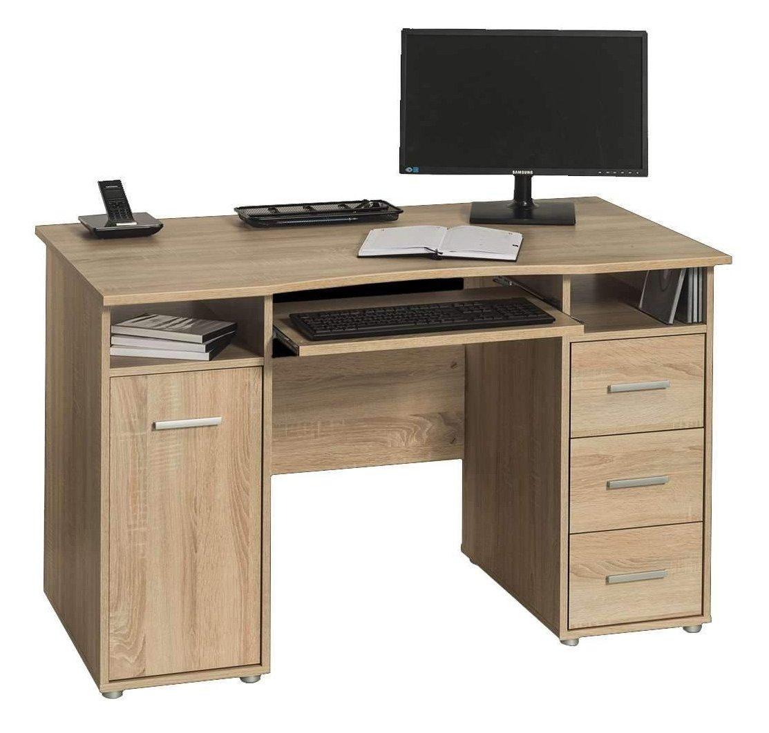 - Maja 4029 5525 Camden Computer Desk Workstation - Sonoma Oak