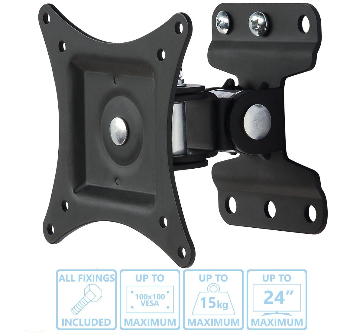 Ultimate Mounts Um201 Tilt And Turn Tv Wall Brackets
