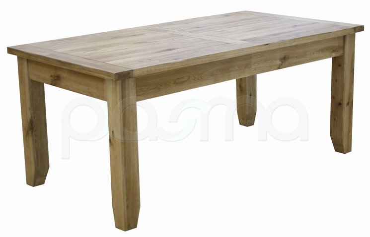 Rutland Solid American White Oak Extending Dining Table