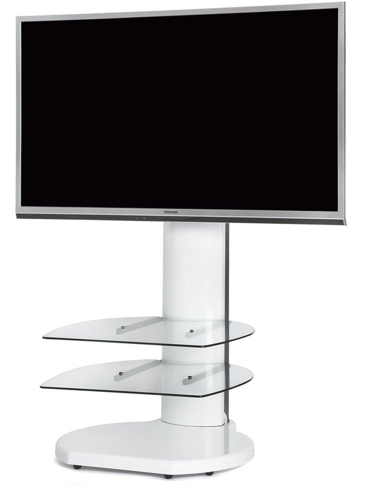 Origin Ii S4 White Cantilever Tv Stand